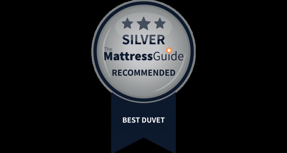 best duvet to buy silver award