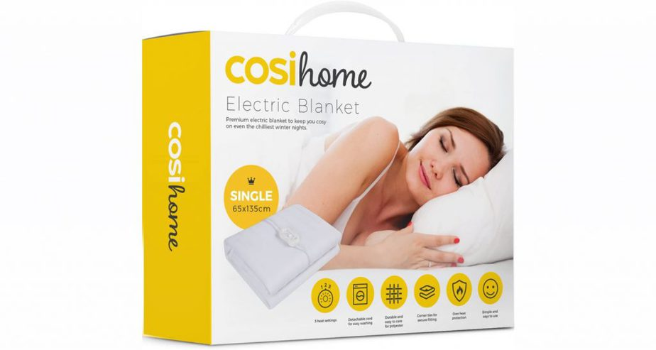 cosi home electric blanket