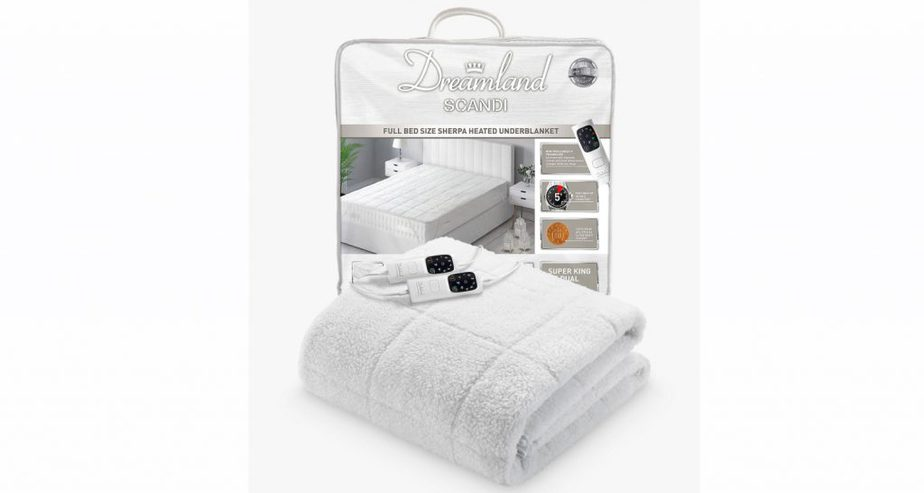 dreamland sherpa electric blanket