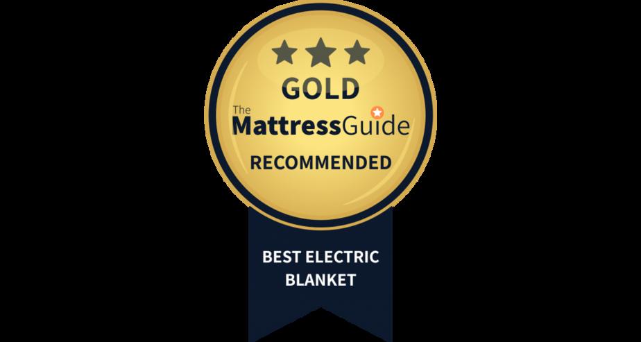 electric blanket gold award