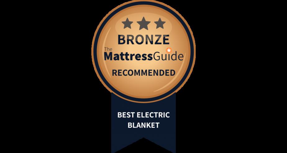 heated blanket bronze award