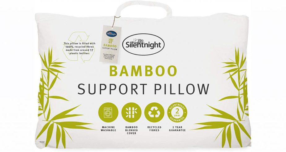 silentnight bamboo pillow