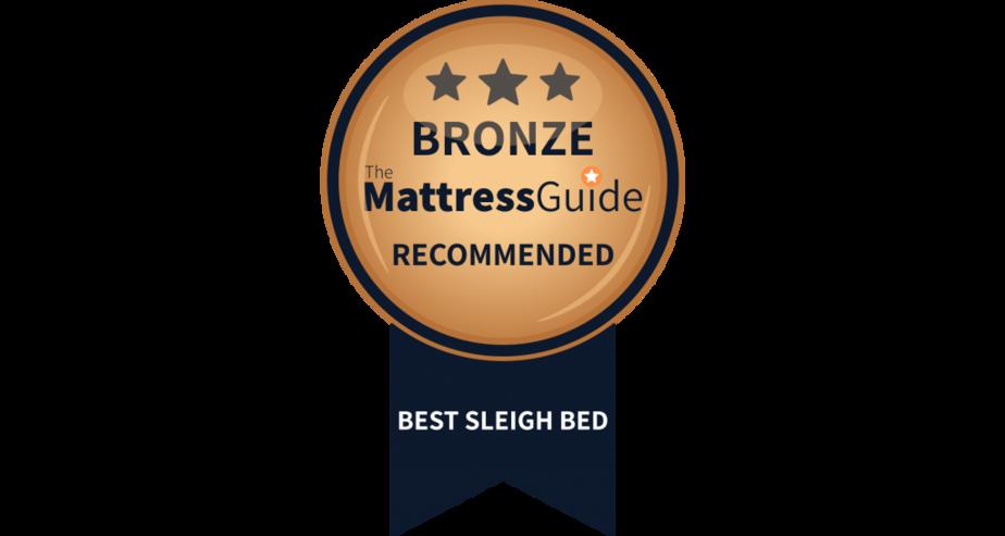 sleigh bed frame bronze award