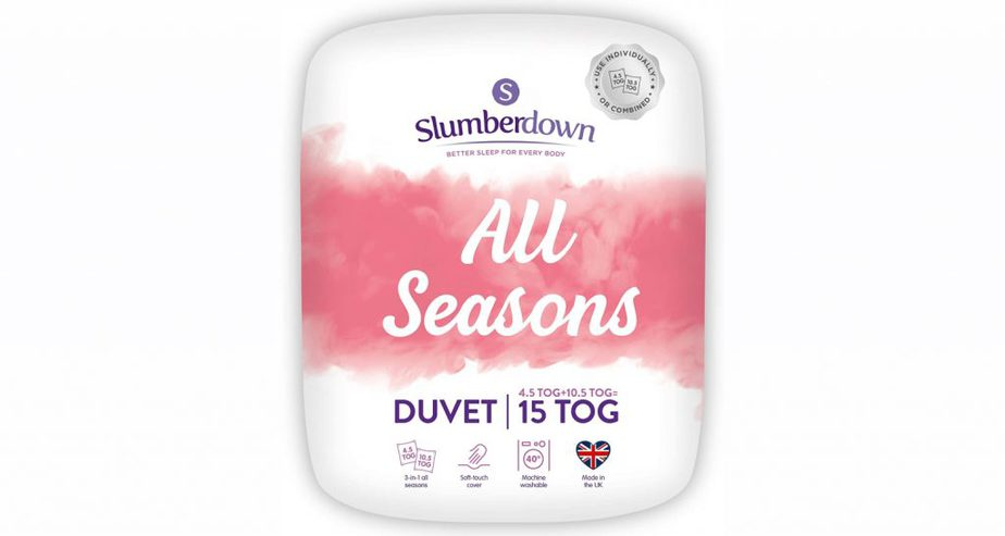 slumberdown all seasons duve