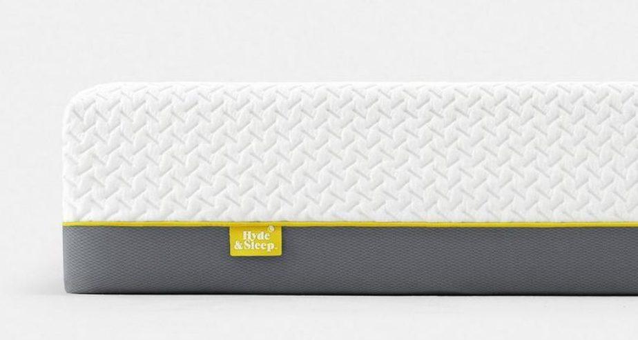 hyde and sleep lemon memory foam mattress