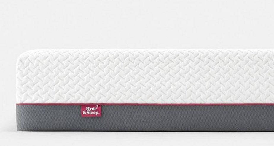 hyde & sleep hybrid raspberry mattress