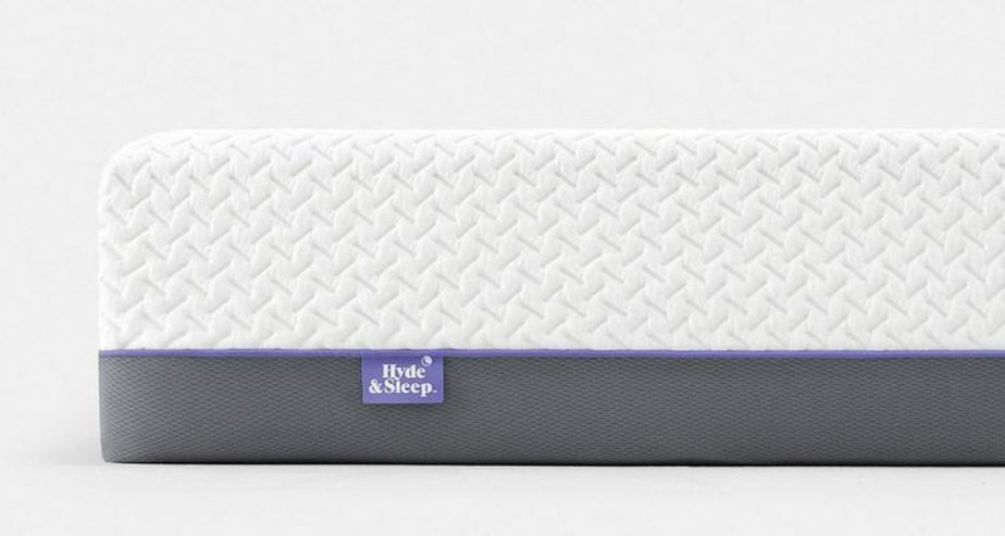hyde & sleep lilac memory foam mattress