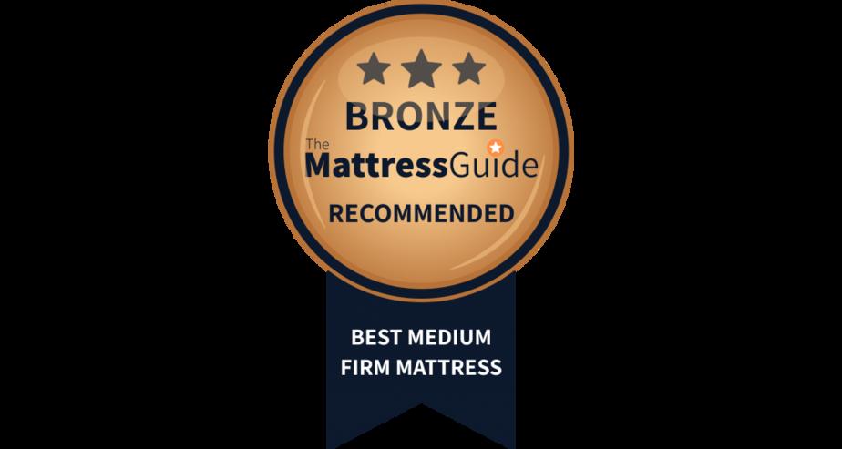 best medium firm mattressbronze award
