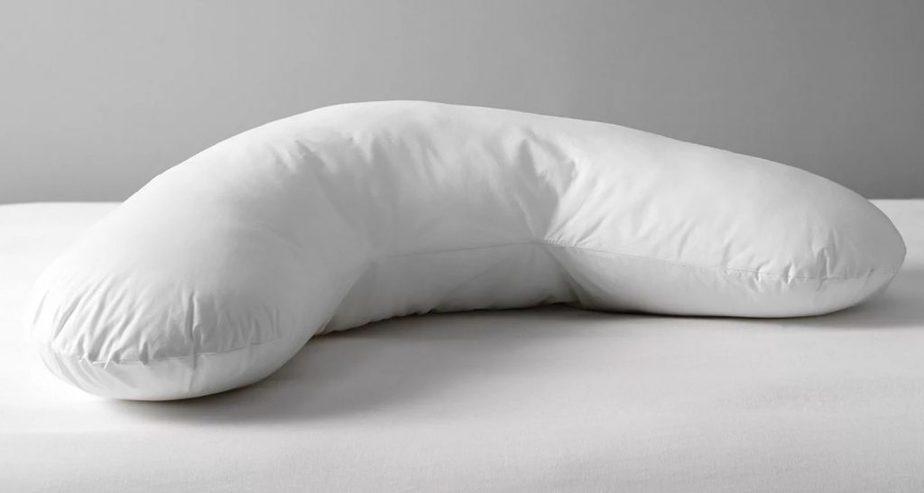 john lewis teflon v shaped support pillow