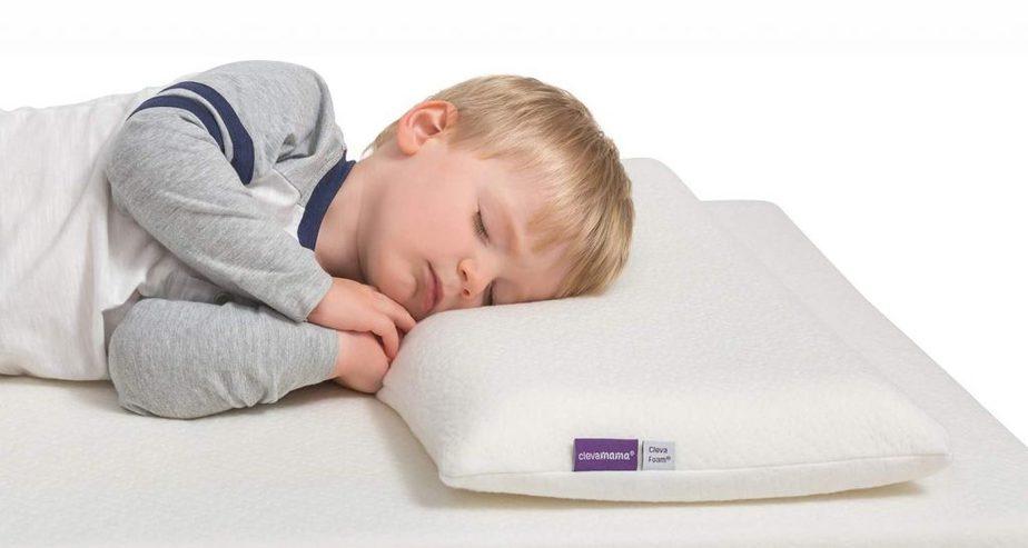 clevamama clevafoam kids pillow