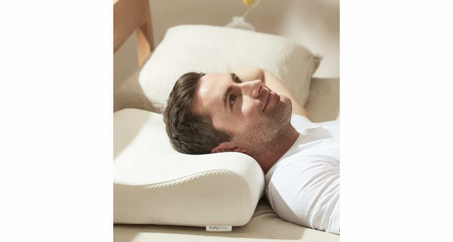 Kally Sleep Memory Foam Contour Pillow