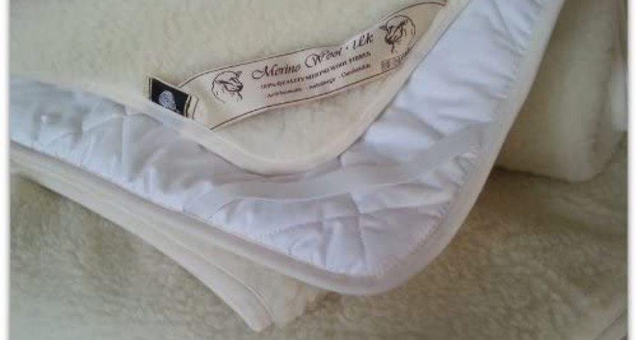 Merino Wool Bedding Reversible wool Mattress Topper