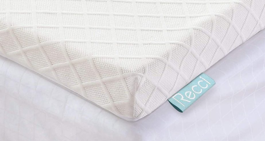 RECCI bamboo Memory Foam Mattress Topper