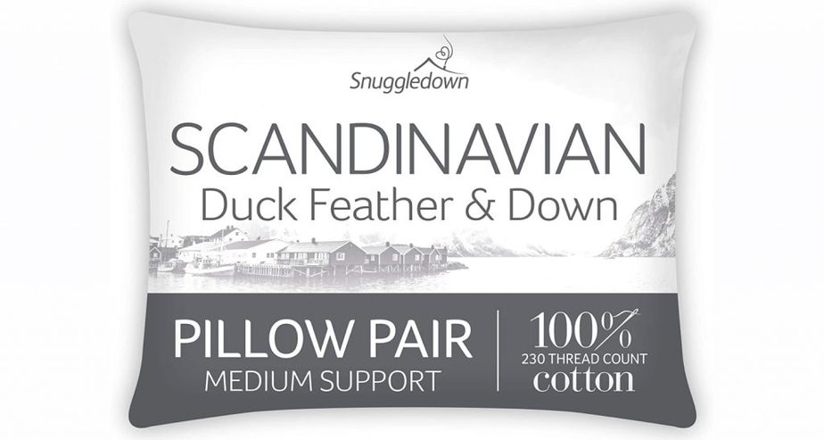 Snuggledown Duck Feather & Down Pillows