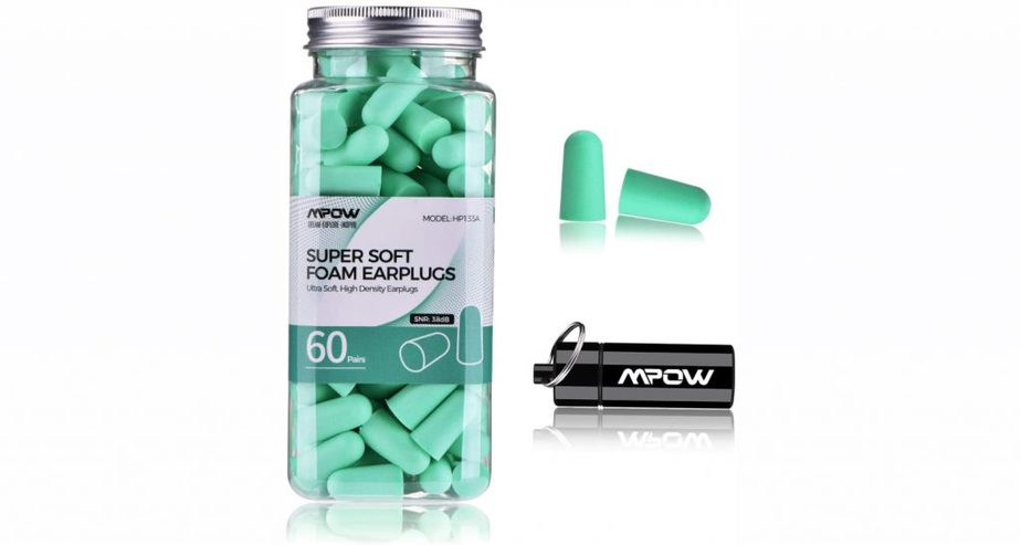 Mpow Upgraded Super Soft Foam Earplugs