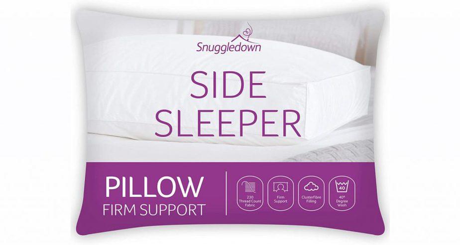 Snuggledown Side Sleeper White Pillow